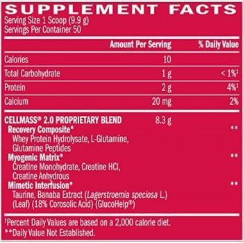 BSN CellMass 2.0 Post-Workout Recovery 50 servings