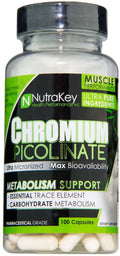Nutrakey Chromium Picolinate 100 ct