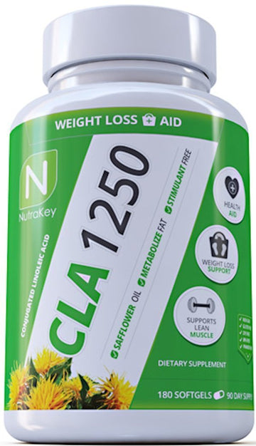 Nutrakey CLA 1250 180 Softgel