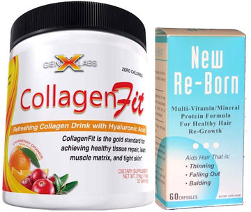 GenXLabs CollagenFit 30 servings With FREE Hair Vitamins