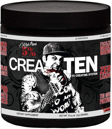 5% Nutrition Crea-Ten 30 Servings