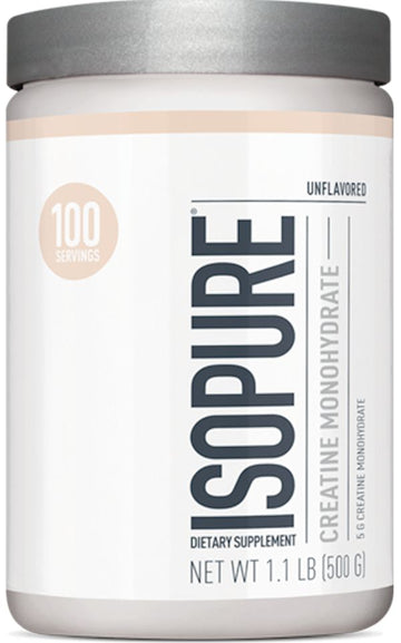 Nature's Best Isopure Creatine Monohydrate 100 servings