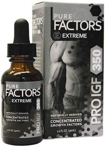 Pure Solutions Pure Factors Extreme Pro I.G.F. 350 11.7 mg 1 oz (code: 50off)