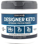 Designer Protein Collagen Designer Keto Protein Powder 12 oz