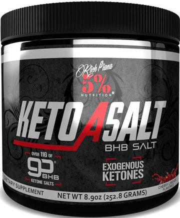 5% Nutrition Keto aSalt 16 Servings