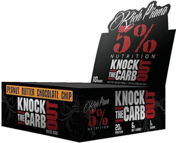 5% Nutrition KTCO Keto Bar 10/box