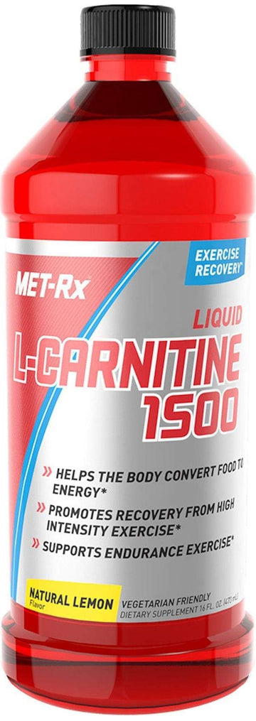MET-Rx Liquid L-Carnitine 1500 16 oz.