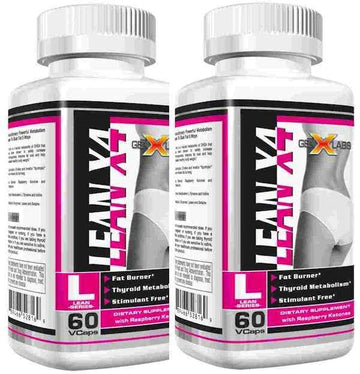 GenXLabs LeanX4 Fat Burner Buy 1 Get 1 50% Off