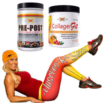 GenXLabs Collagenfit, Pre-Post with FREE Active Legging (code: 20off)