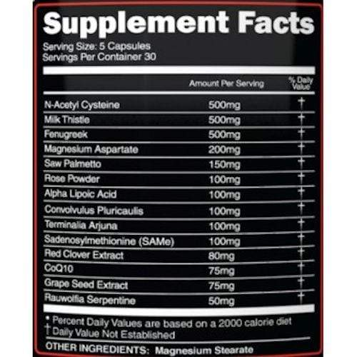 Primeval Labs PCT Primeval Labs Mega Cycle Support 150 ct