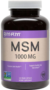MRM Joint Support MRM MSM 120 vcaps