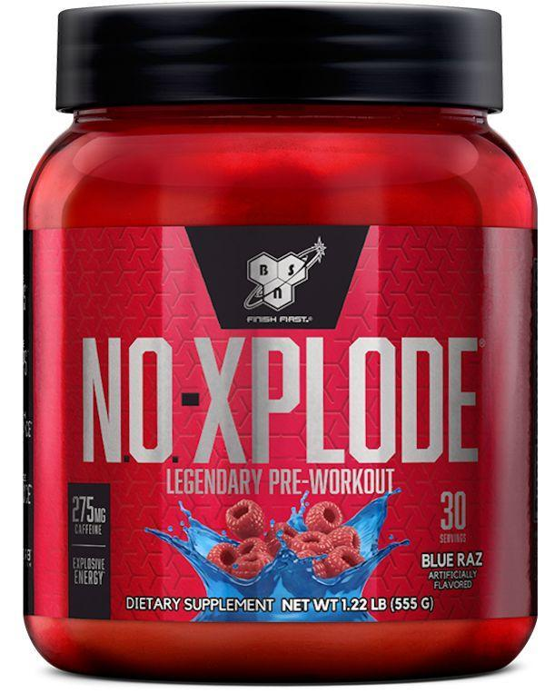 BSN Pre-Workout Scorched Cherry BSN NO Xplode Legendary 30 servings