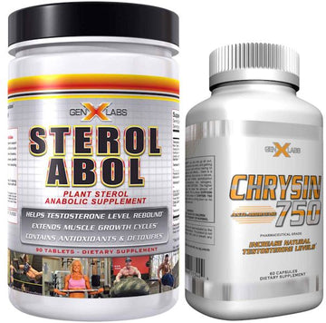 GenXLabs Off Cycle Support Sterolabol and Chrysin 750