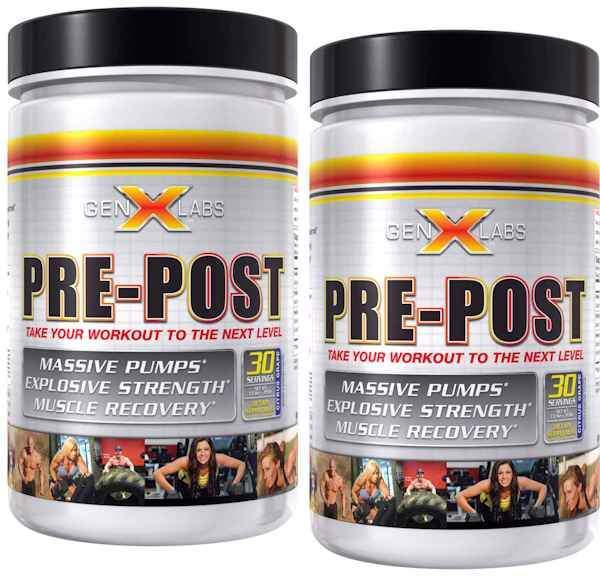 GenXLabs Pre-Workout GenXLabs Pre-Post Buy 1 get 1 50% off