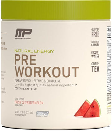 MusclePharm Pre-Workout Natural 30 servings