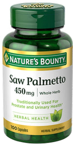Nature's Bounty Herbs Nature's Bounty Saw Palmetto