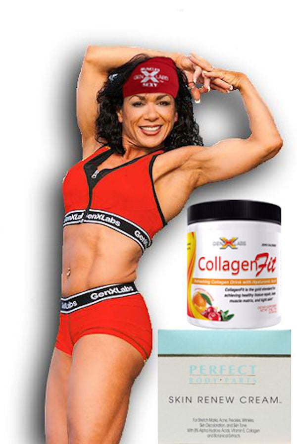 GenXlabs Women's Training Set with FREE Collagenfit, Beanie, and Skin Renew Cream (code: 20off)