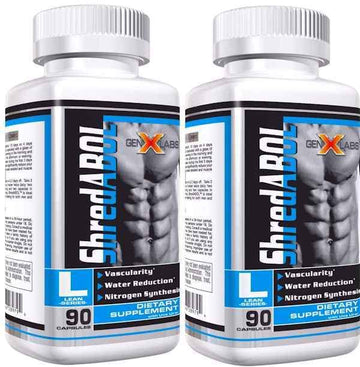 GenXLabs ShredABOL with Glutamine 90 caps Buy 1 Get 1 FREE