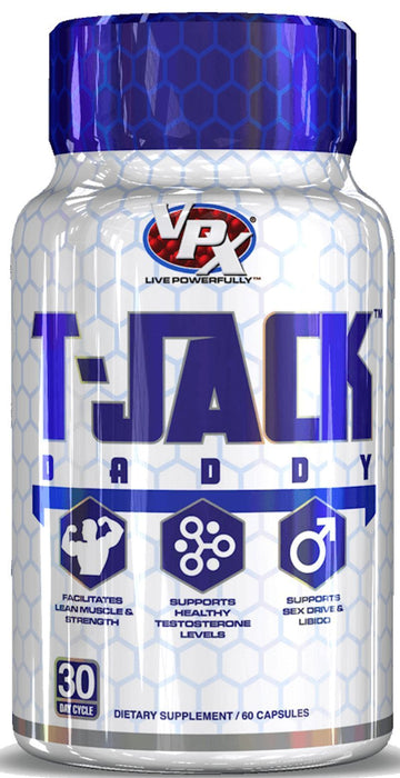 VPX Sports T-Jack Daddy 60 caps (Discontinue Limited Supply)