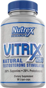 Nutrex Research Test Booster Nutrex Vitrix Limited 90 ct