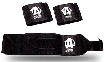 Universal Animal Wrist Wraps Black