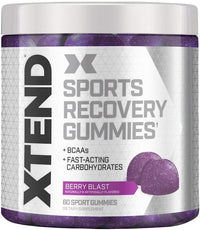 Scivation BCAA Blue Raspberry Scivation Xtend Gummies