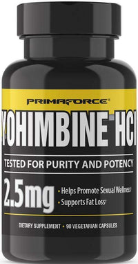 Primaforce Lean Muscle PrimaForce Yohimbine HCl 2.5 mg 90 caps