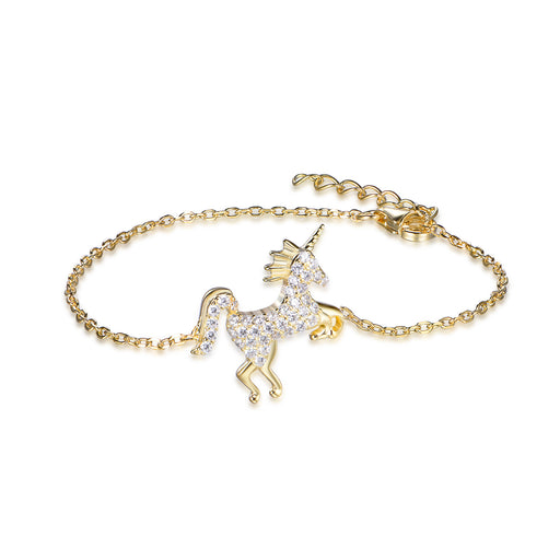 Mystical Unicorn Bracelet-Bracelets-Vida's Brooklyn