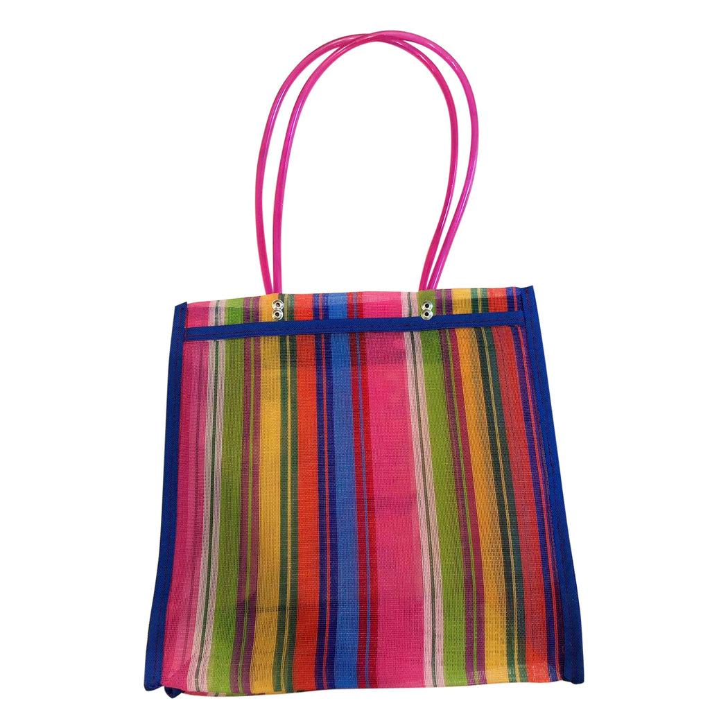 "Mexican Mercado Shoulder Mesh Bag ""Lotería""-Vida's Brooklyn"
