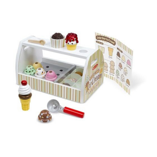 Scoop & Serve Ice Cream Counter-Play Set-Vida's Brooklyn