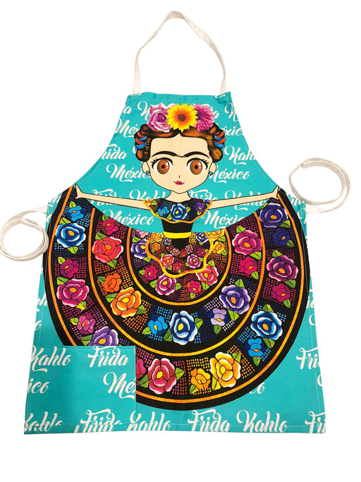 Fun Frida Apron-Vida's Brooklyn
