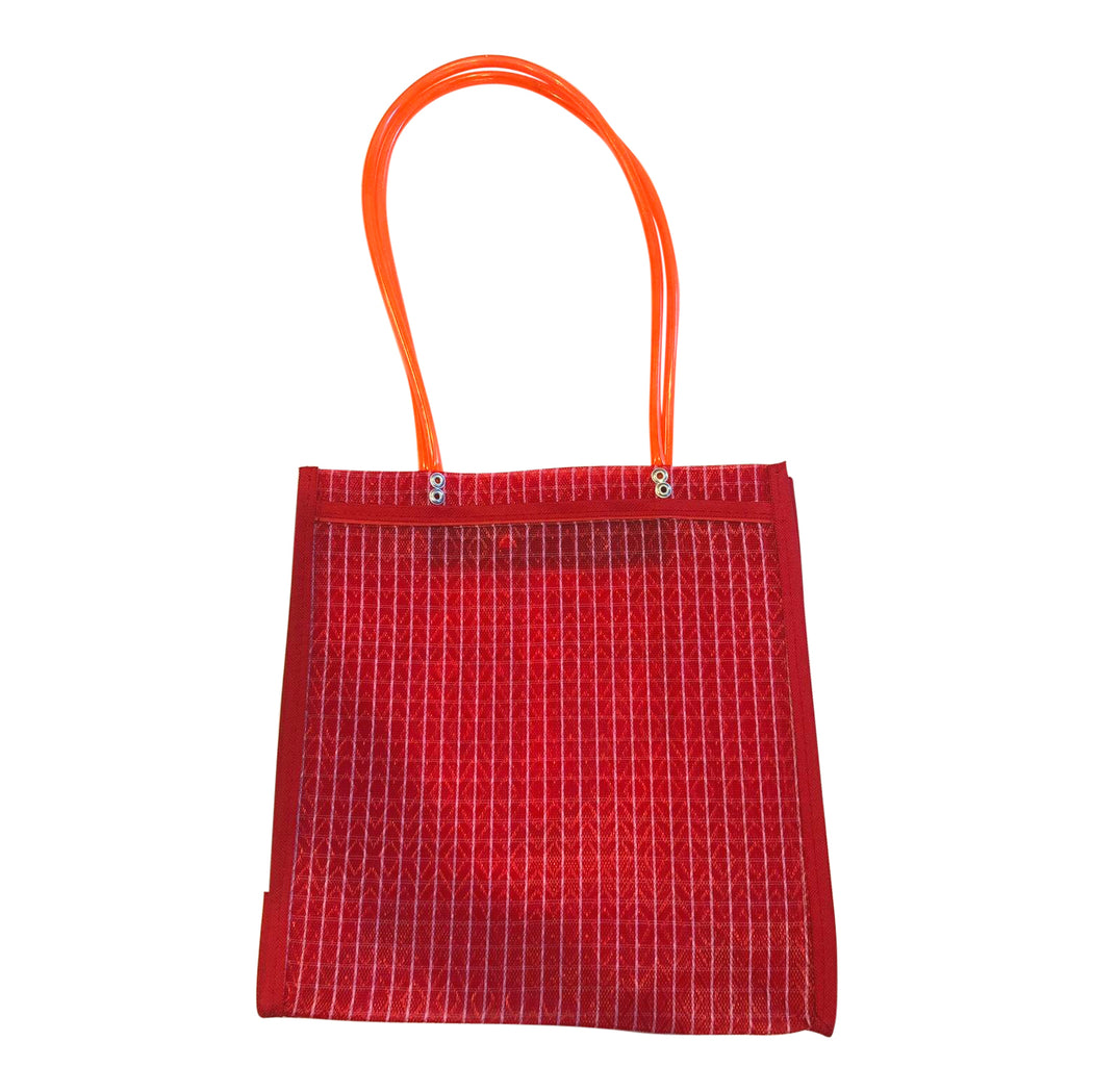 "Mexican Mercado Shoulder Mesh Bag ""La Lupita""-Vida's Brooklyn"