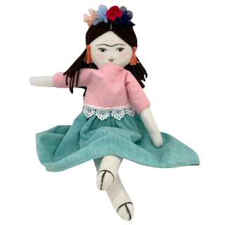 "Mani Mina ""Frida"" Doll-Doll-Vida's Brooklyn"