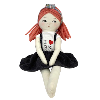"Maní Mina "" I Love BK"" Doll-Doll-Vida's Brooklyn"