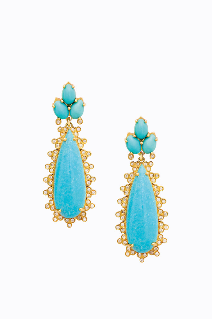 Aria Turquoise Earrings