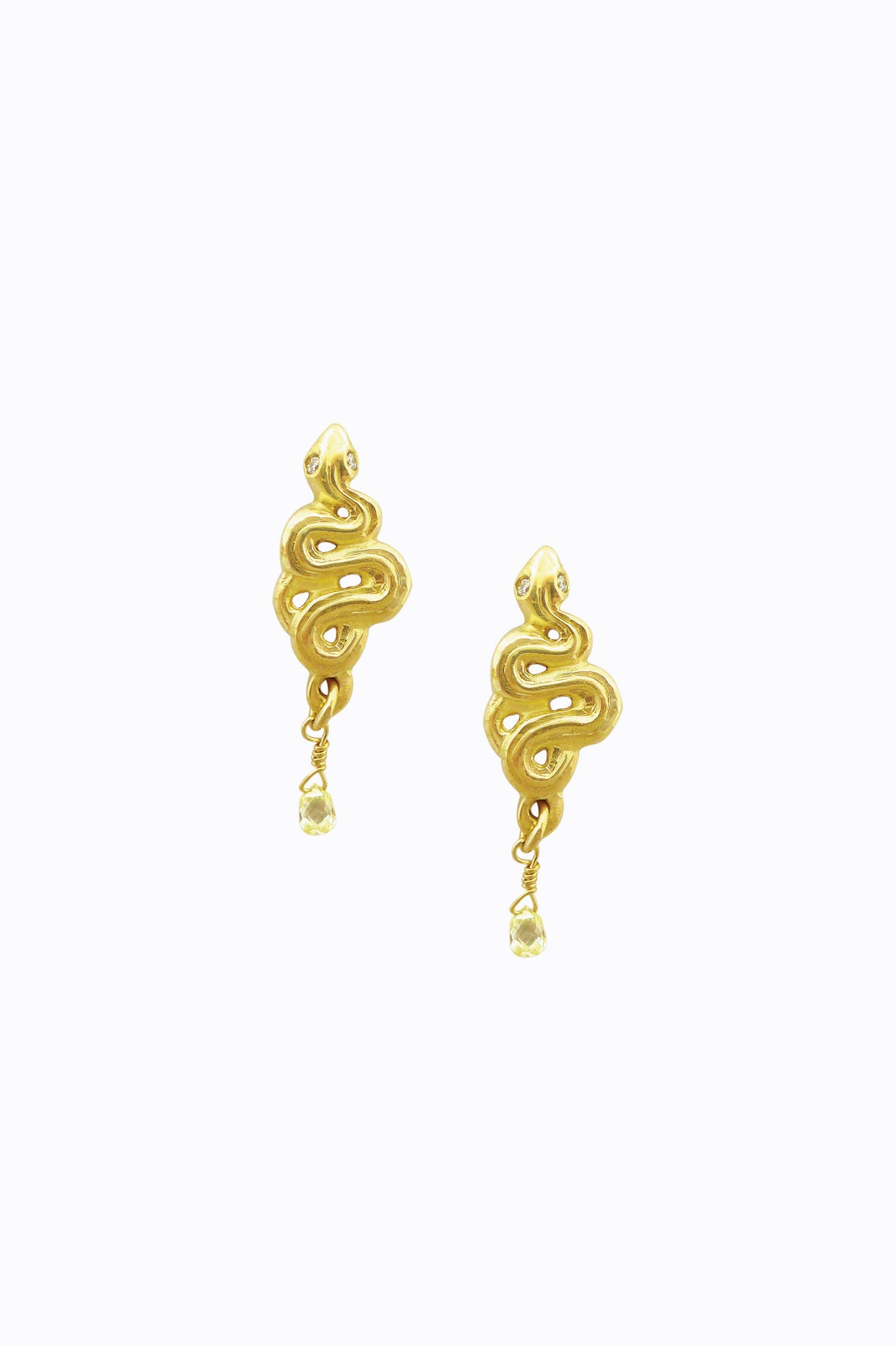 Petite Serpent Earrings