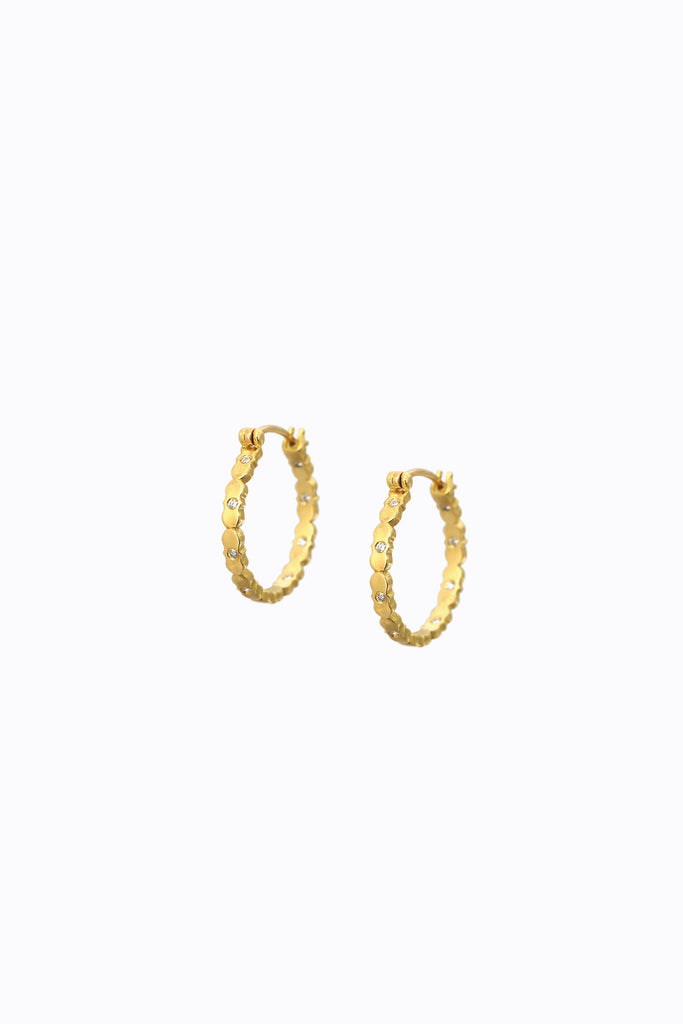 Mira Diamond Hoops