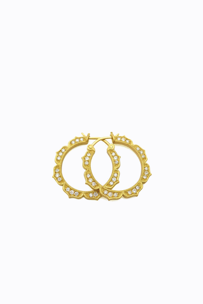 Kerra Diamond Hoops
