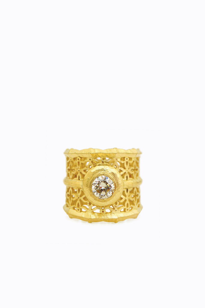 Small Diamond Lattice Ring