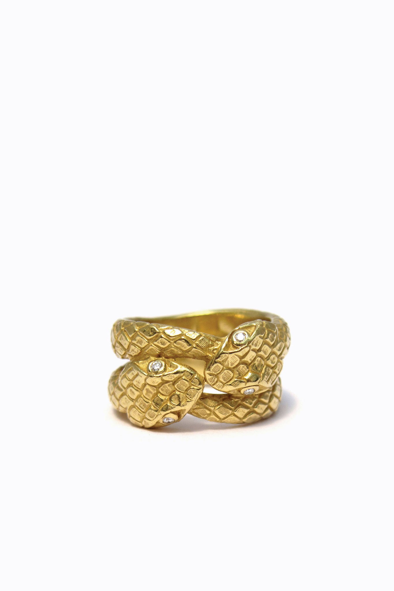 Kissing Serpent Ring
