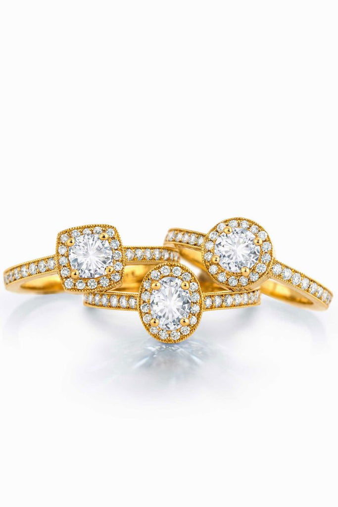 Oval Multi-Diamond Ring