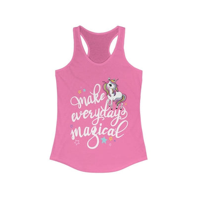 Make Everyday Magical Unicorn Racerback Tank Top