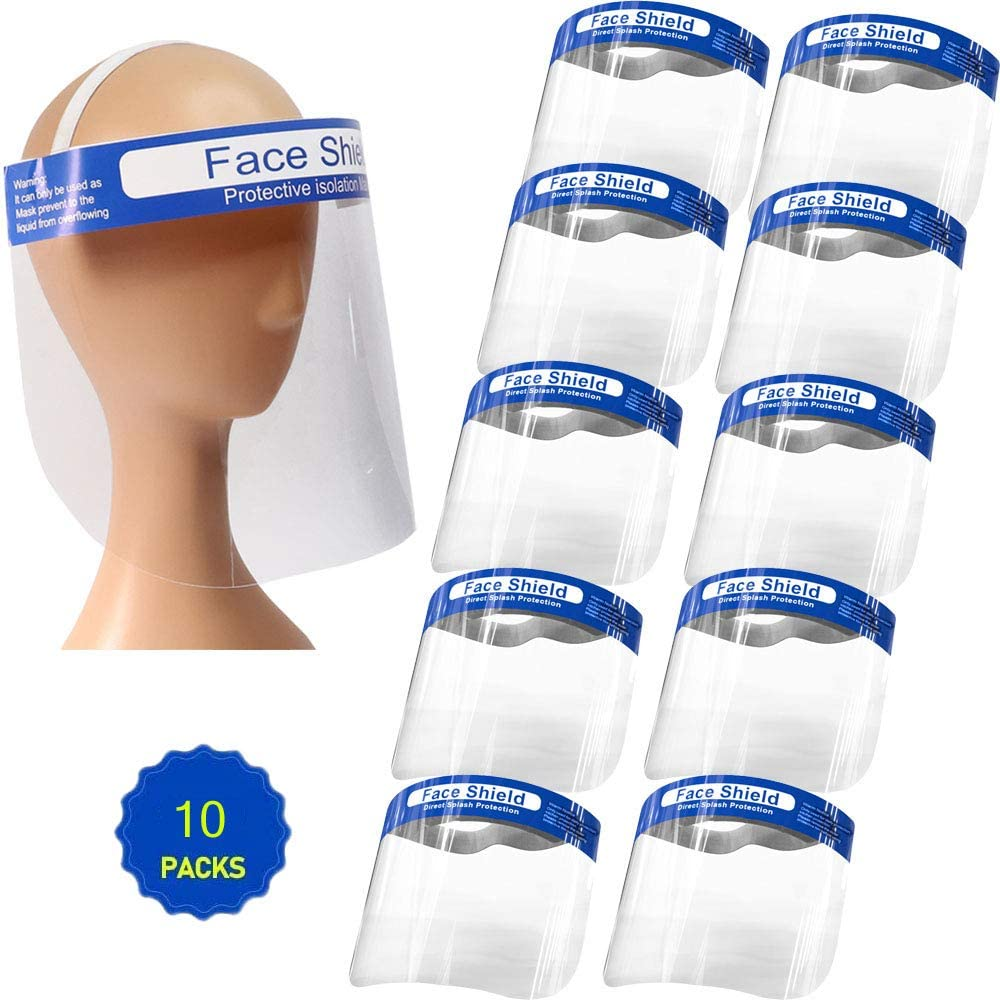 All-Purpose Safety Face Shield Clear Full Face Mask
