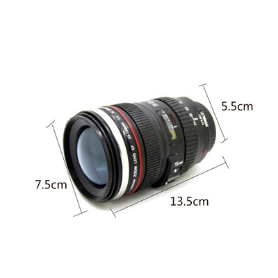 Camera Lens Mug For Tea and Coffee 24-105mm with Lid