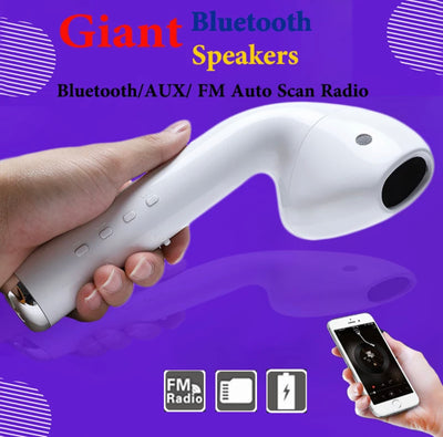 Giant Headset Speaker /Bluetooth /Earphone Wireless Portable Speaker