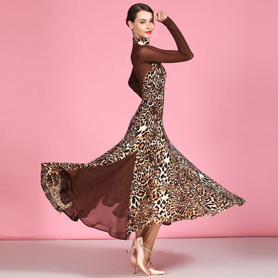 Leopard Ballroom Dress  DN4441