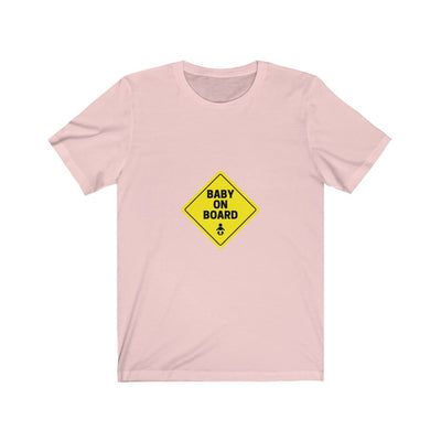 Baby On Board Pregnancy Tee/ Short Sleeve