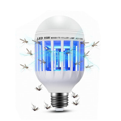 Electric Mosquito Killer LED Lamp Pest Control Insect Repellent