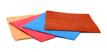 bright and light fine leather color options for sneaker bows
