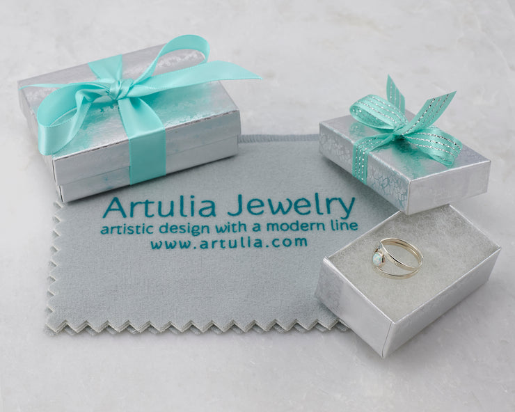 Gift wrapping for sterling silver jewelry